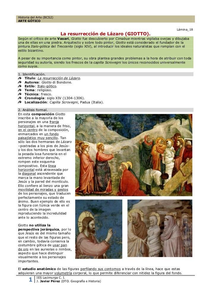 Historia del Arte (BCS2)ARTE GÓTICO                                                                                       ...
