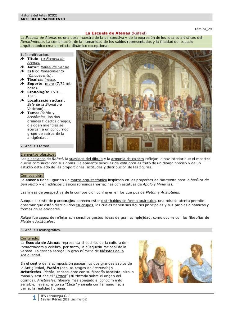 Historia del Arte (BCS2)ARTE DEL RENACIMIENTO                                                                             ...
