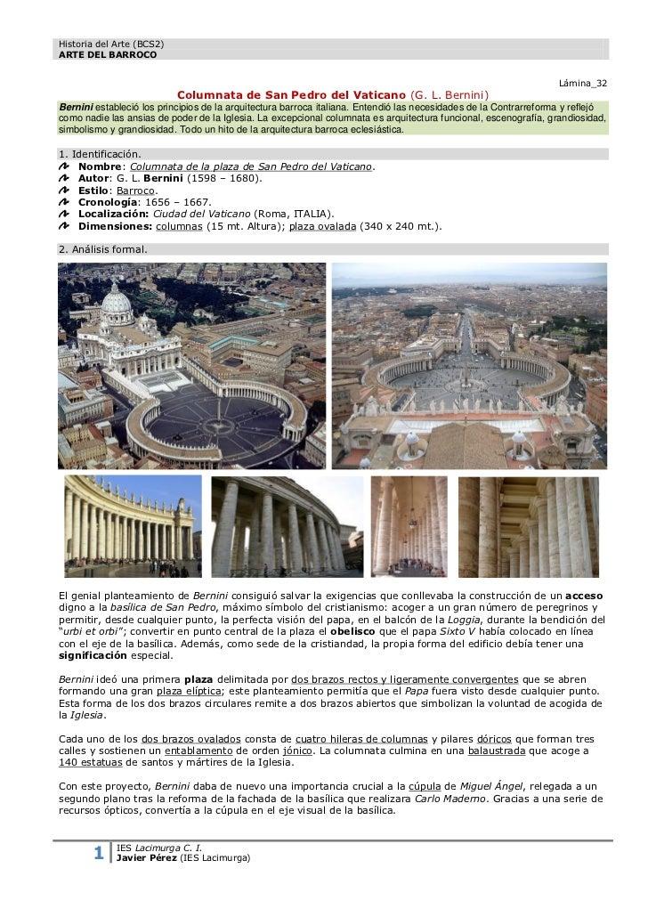 Historia del Arte (BCS2)ARTE DEL BARROCO                                                                                  ...