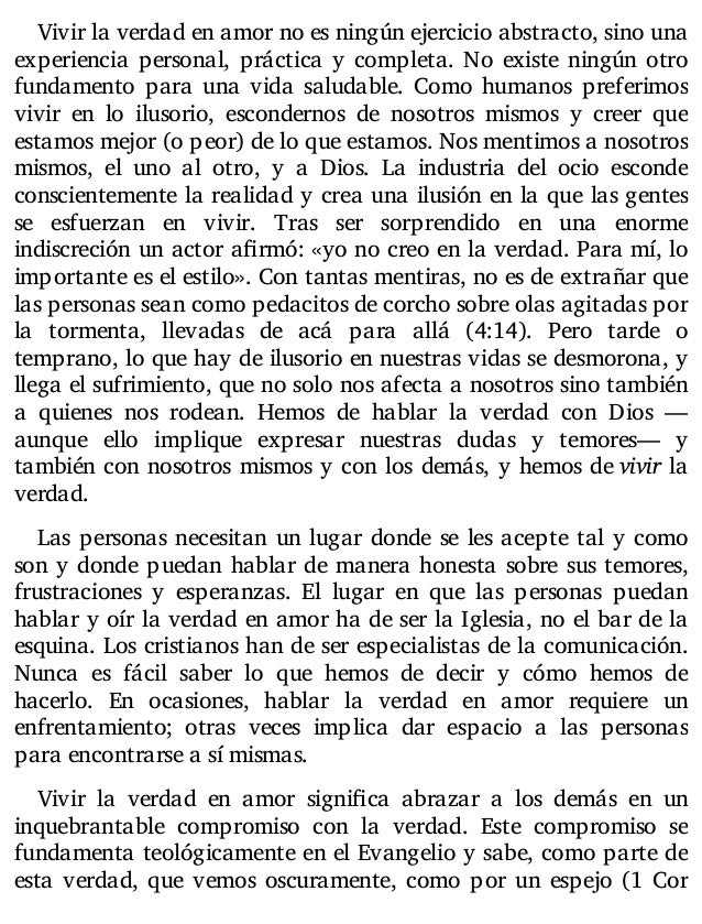 comentario n v i español