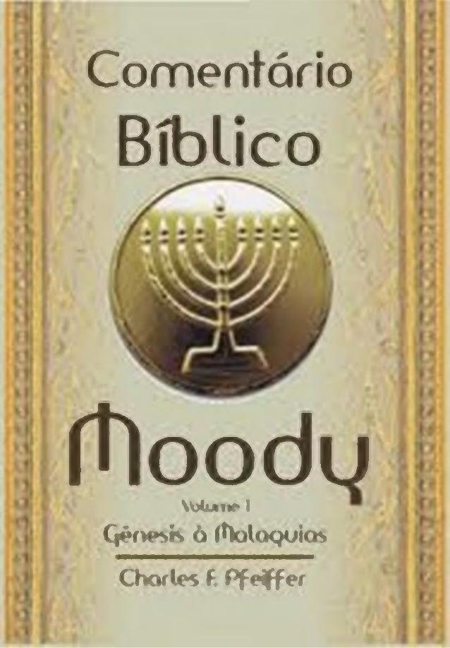 Comentário Bíblico ífloodu W j j m k · I QêfH>>K ò ftoloQukft Charles f. P fe ffe r