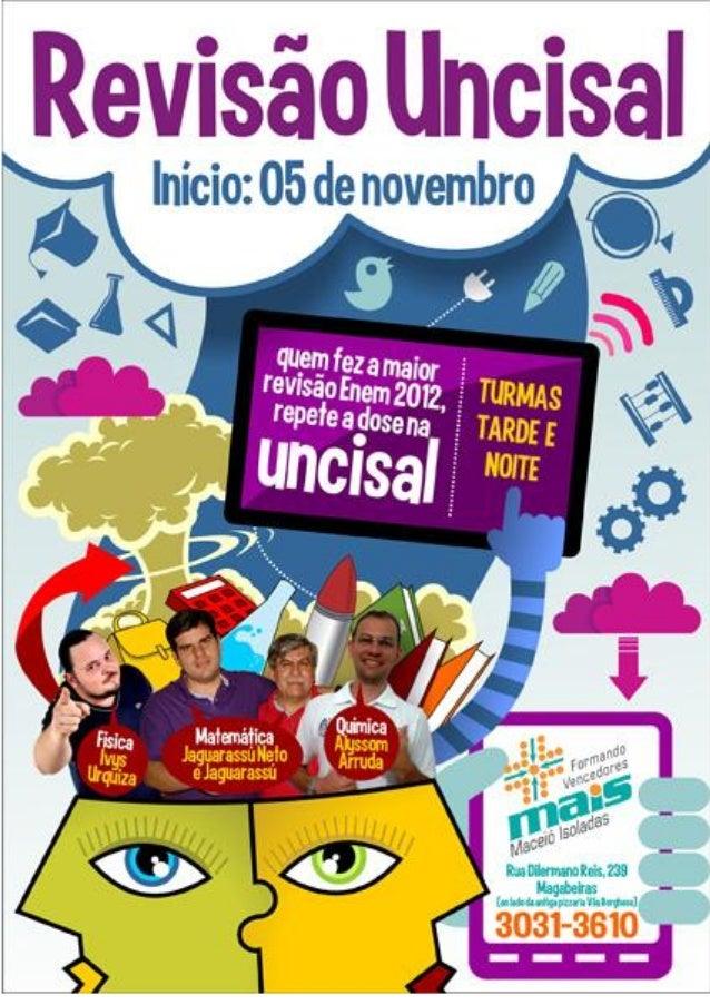 QUESTÃO 47 (prova AZUL)  CN e suas TECNOLOGIAS – ENEM 2012  A questão fala sobre compactação do solo.  Uma maneira para re...