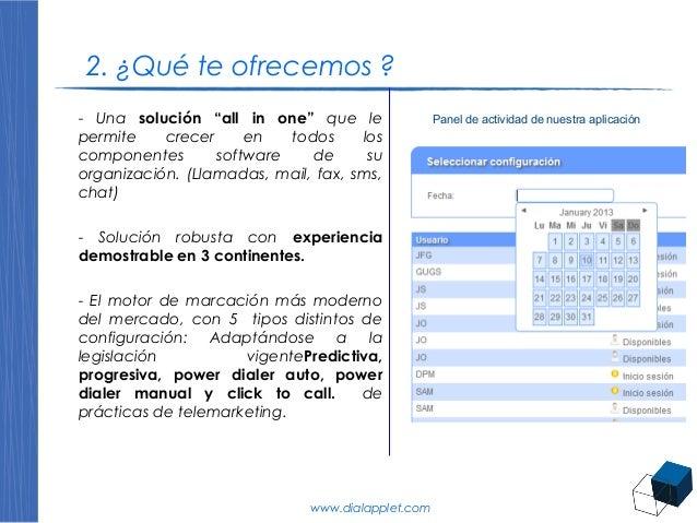 Soluciones callcenter dialapplet 2014 mayo presentaci n for Horario oficina randstad