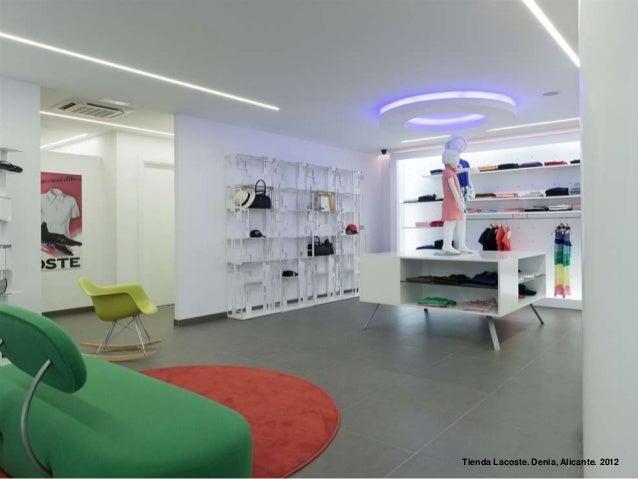 Tienda Lacoste. Denia, Alicante. 2012