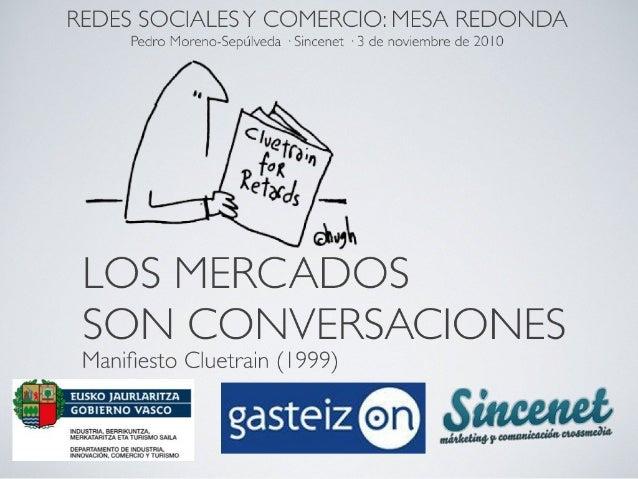 Mesa Redonda Redes Sociales y Comercio