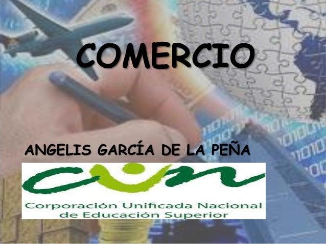 COMERCIO ANGELIS GARCÍA DE LA PEÑA