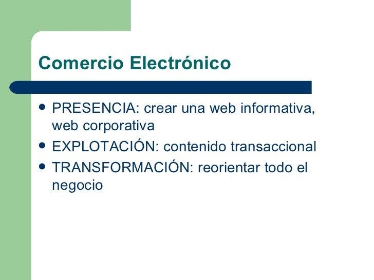 Comercio electronico Slide 3