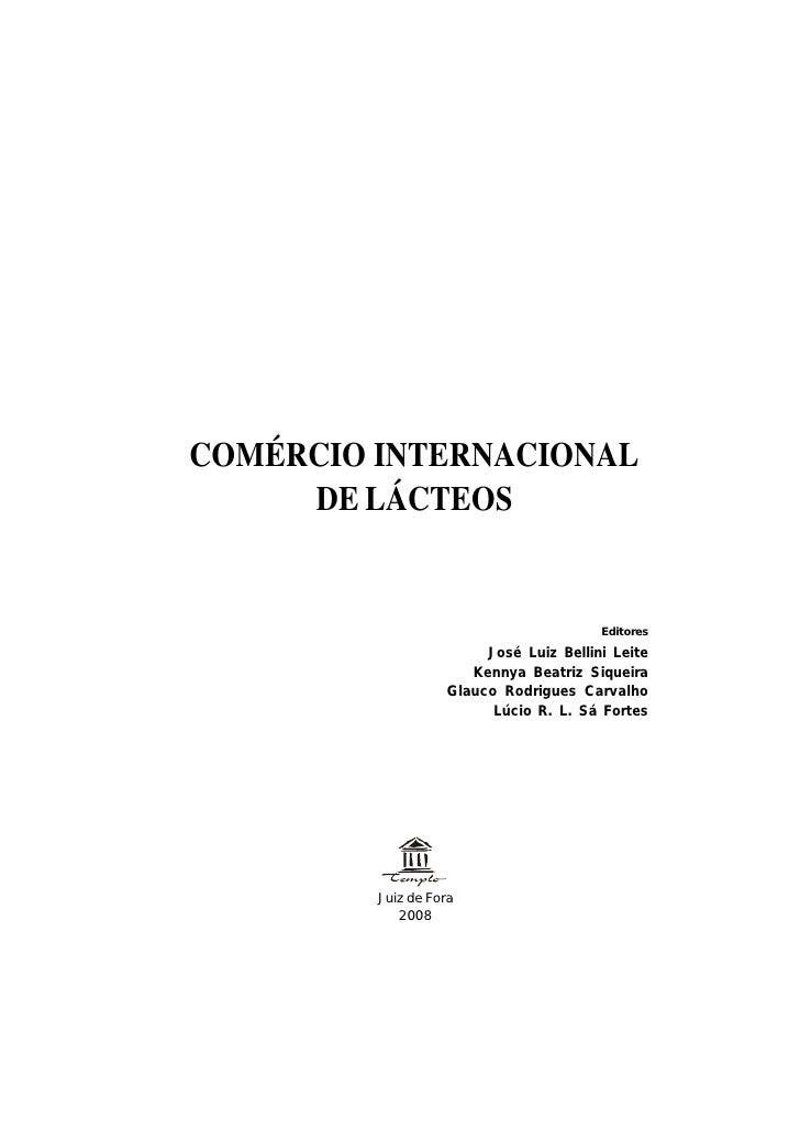 Comércio Internacional de Lácteos