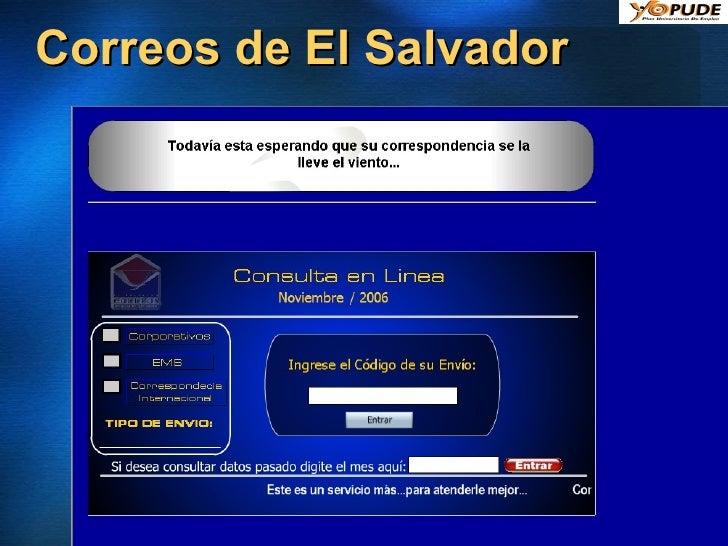 Correos de El Salvador