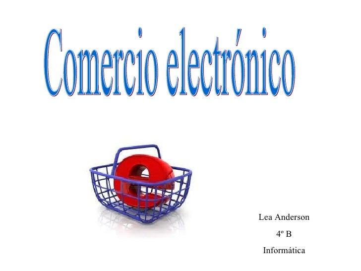 Lea Anderson    4º B Informática