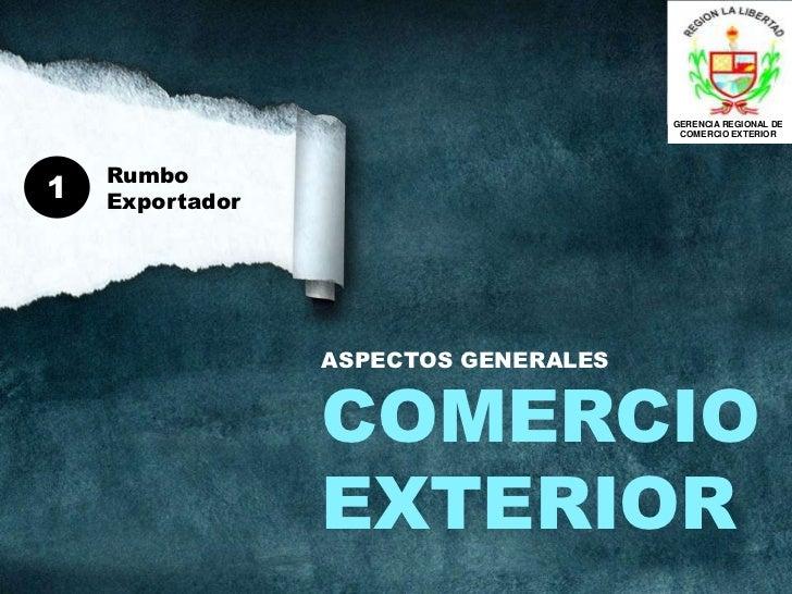Comercio exterior aspectos generales for Comercio exterior