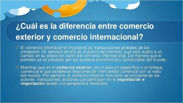 Comercio internacional for Comercio exterior que es
