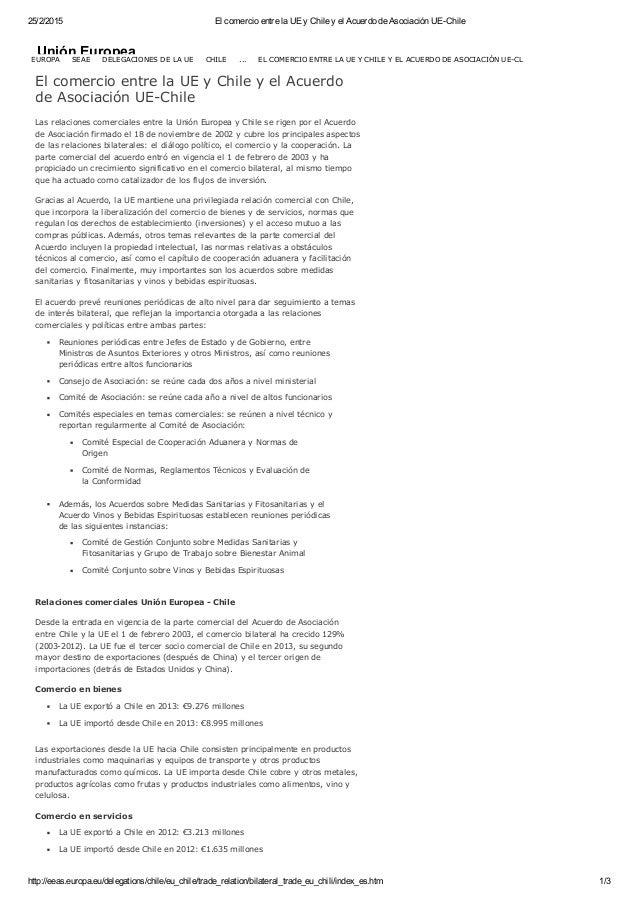 25/2/2015 ElcomercioentrelaUEyChileyelAcuerdodeAsociaciónUEChile http://eeas.europa.eu/delegations/chile/eu_c...