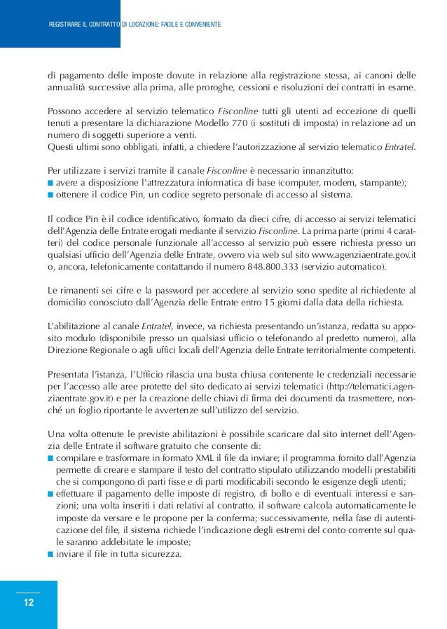 ... CONTRATTO DI LOCAZIONE: FACILE E CONVENIENTE; 11. Di ...