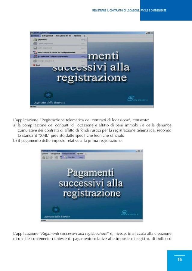 Registrare un contratto di affitto cheap telematica dei for Rinnovo contratto affitto