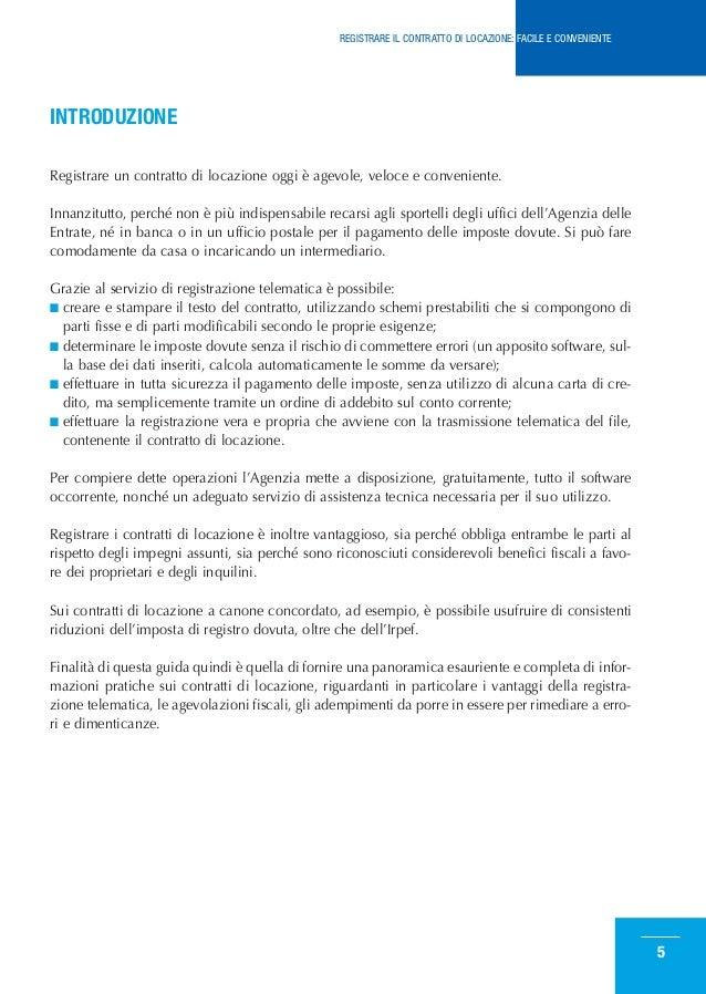 Come registrare il contratto di locazione for Contratto di locazione per studenti