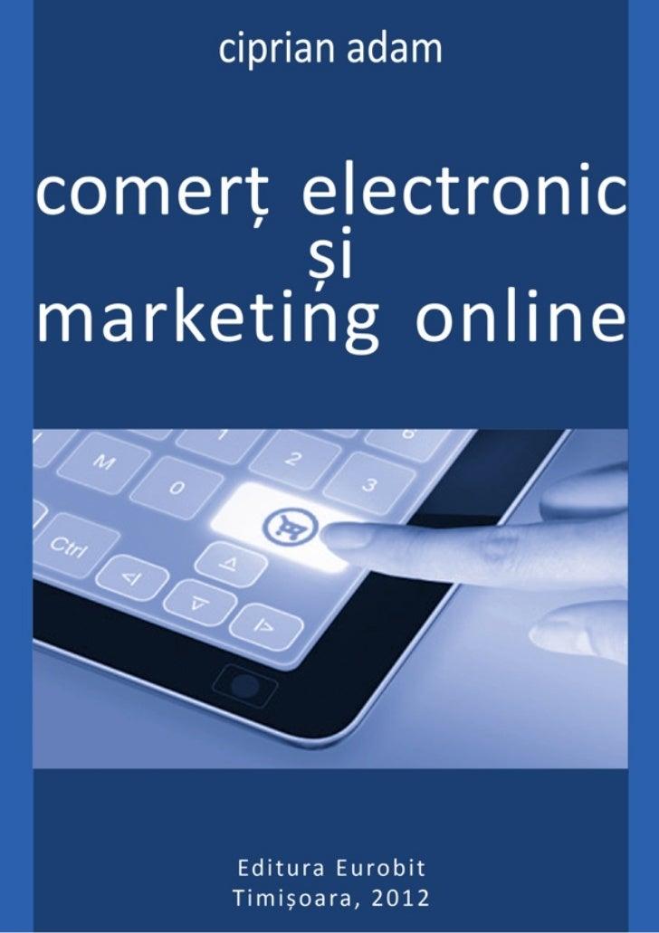ciprian adamcomerț electronic        șimarketing online       2012