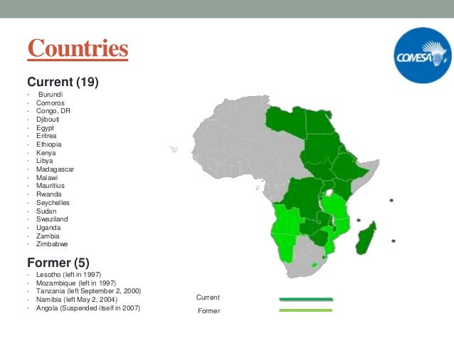 history of comesa History of comesa at the first and second conferences of independent african states, held in accra , ghana , in april 1958 and in addis ababa , ethiopia in june 1960, respectively, economic problems to be faced by independent africa were discussed.