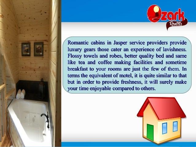 4. Romantic Cabins In Jasper ...