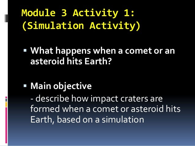 why does it when an asteroid hits earth the explode - photo #34