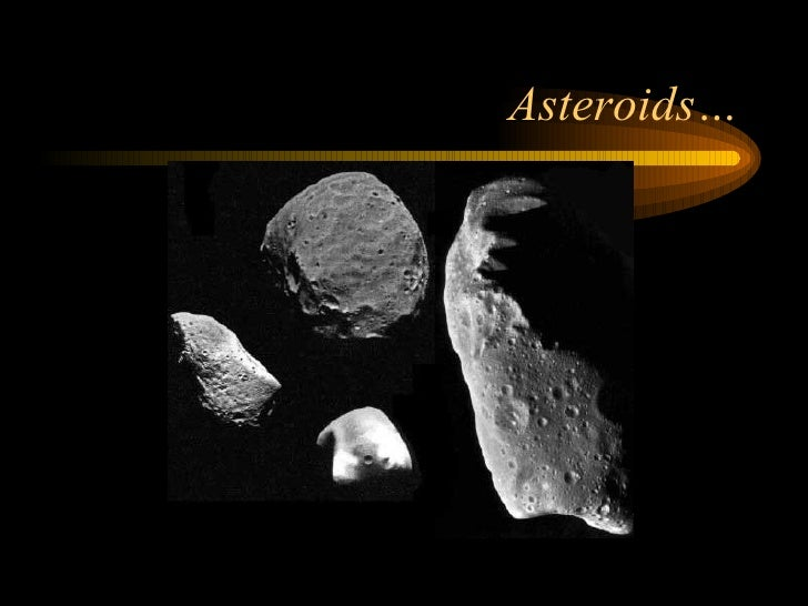 all comets asteroids and meteors together - photo #5