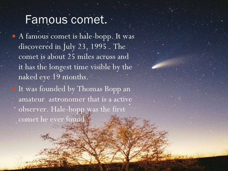 famous asteroids and comets - photo #5