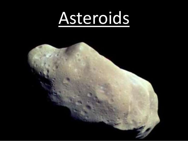 comets asteroids and meteoroids
