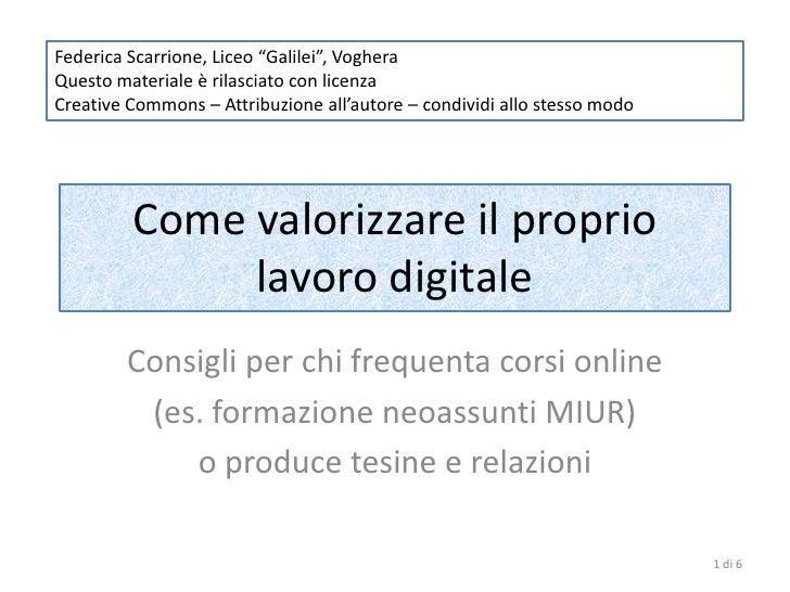 """Federica Scarrione, Liceo """"Galilei"""", VogheraQuesto materiale è rilasciato con licenzaCreative Commons – Attribuzione all'a..."""