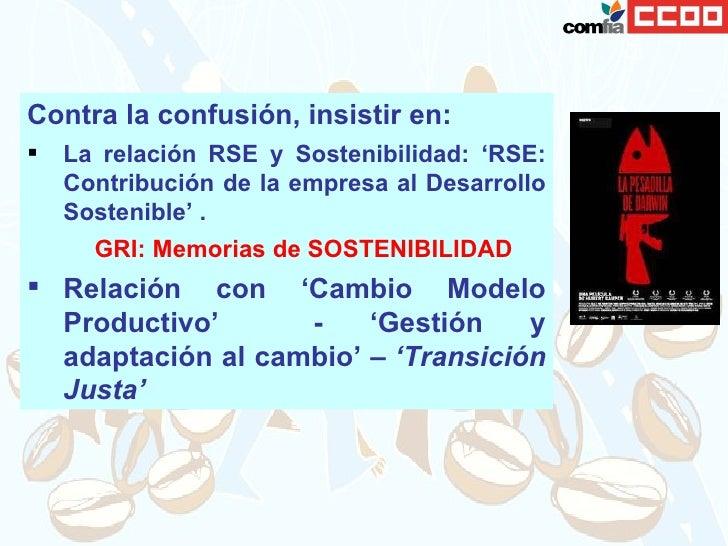 Transparencia y Memorias de RSE Slide 3