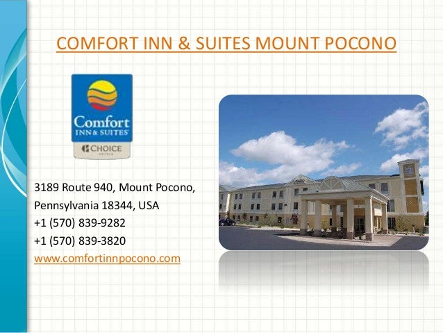 Comfort Inn And Suites Mount Pocono Pa