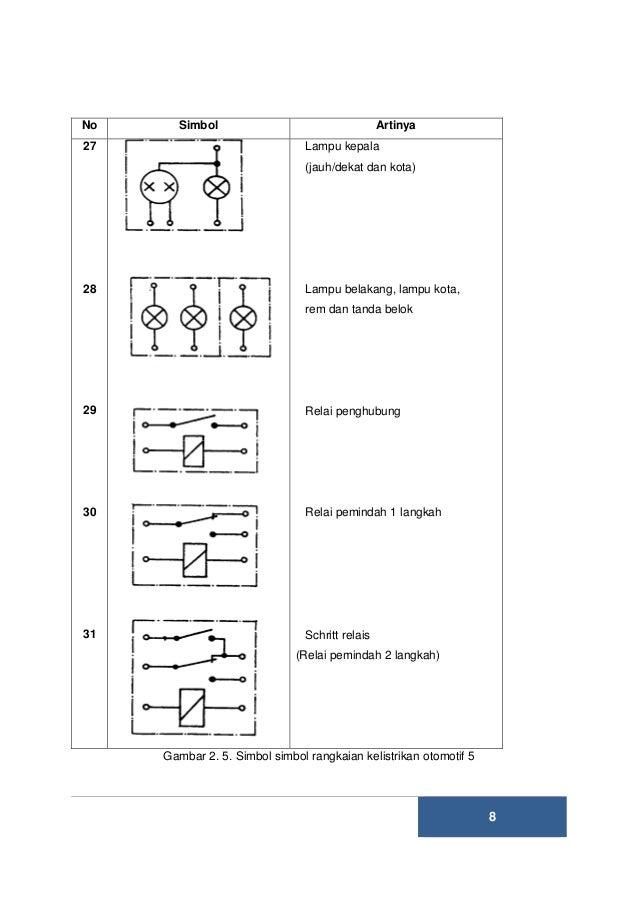 DIAGRAM] Wiring Diagram Sistem Lampu Tanda Belok FULL ... on