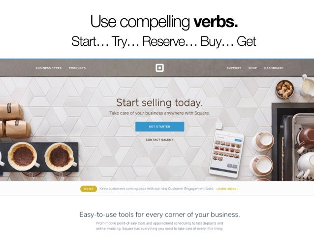 If you're not creating a landing page,  you're creating a leading page.