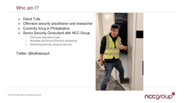 COM Hijacking Techniques - Derbycon 2019 Slide 2