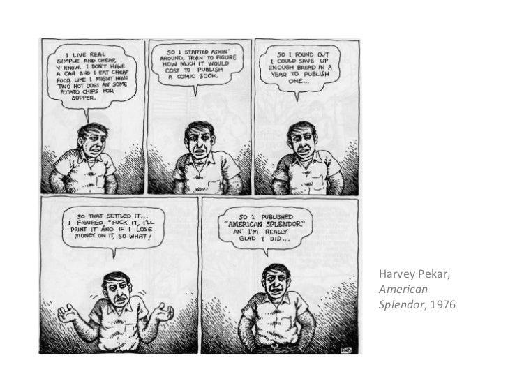 Harvey Pekar,AmericanSplendor, 1976