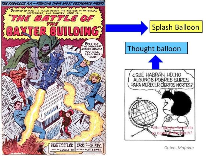 Splash BalloonThought balloon          Quino, Mafalda