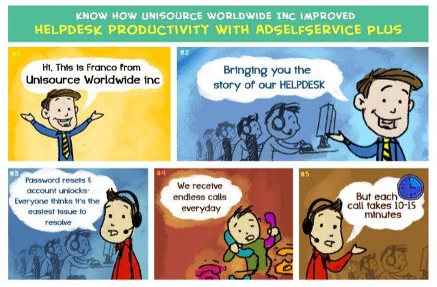 Unisource Worldwide Inc - An ADSelfservice Plus Case study