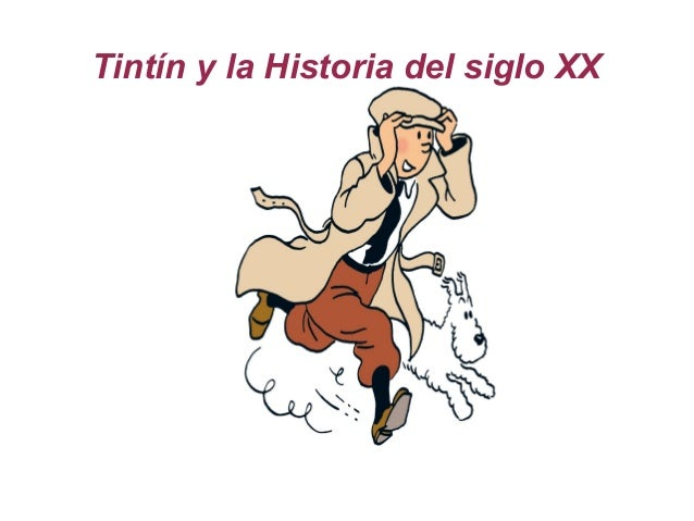 Tintín y la Historia del siglo XX Title