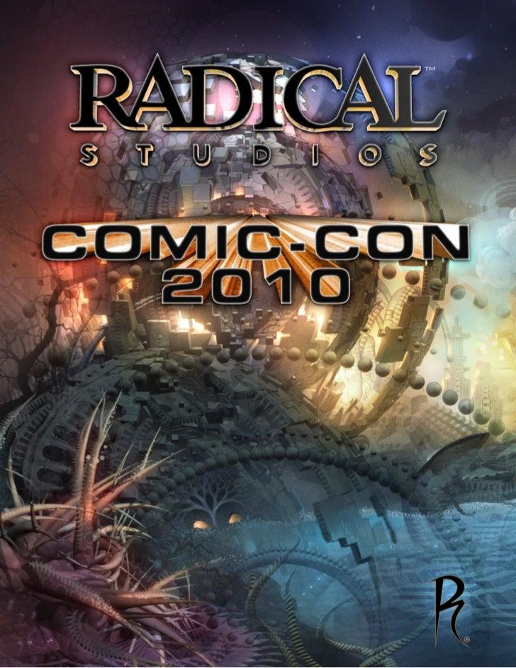 Comic-Con 2010 Preview Book