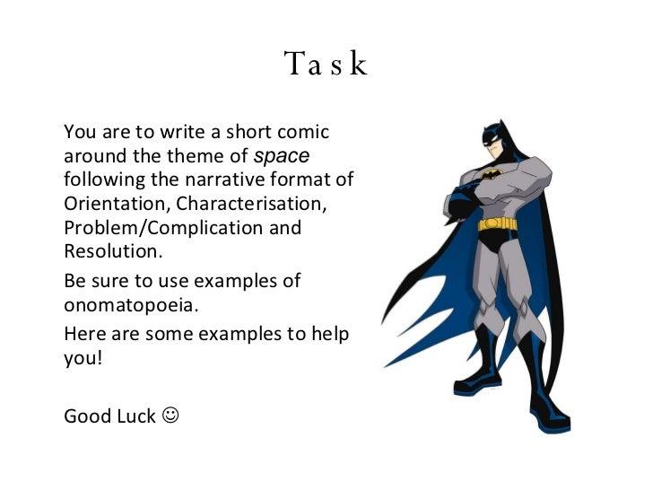 Comic Examples Onomatopoeia