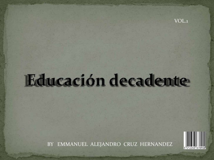VOL.1BY EMMANUEL ALEJANDRO CRUZ HERNANDEZ