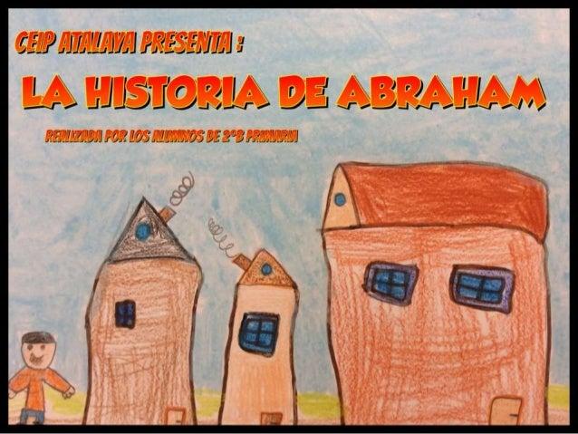 LA HISTORIA DE ABRAHAM EN COMIC. 2ºB