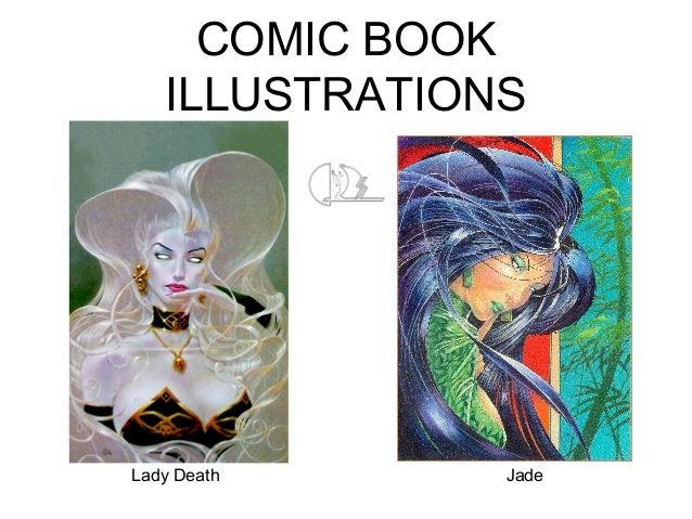 COMIC BOOK ILLUSTRATIONS Lady Death Jade