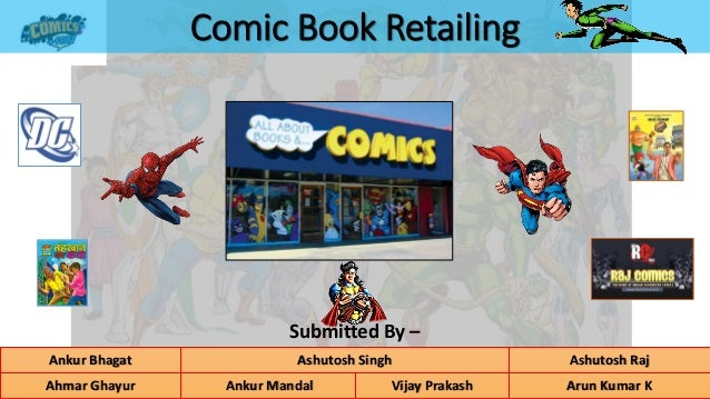 Comic book retailing plan for Plan book app