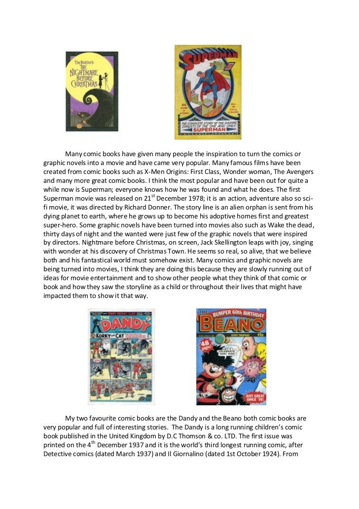 The Question of Literature and Why Comic Books Deserve to be Classified as Such
