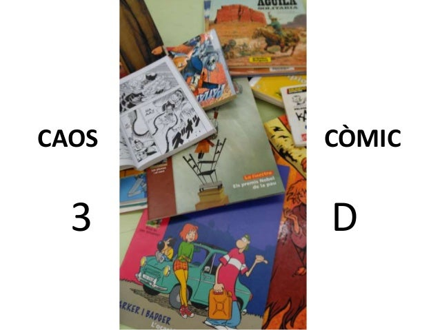 CAOS CÒMIC 3 D