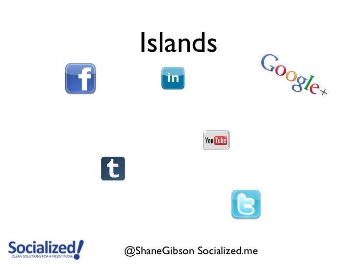Islands@ShaneGibson Socialized.me