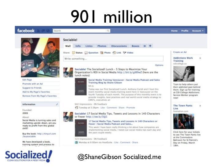 901 million@ShaneGibson Socialized.me