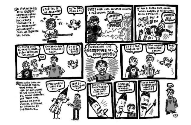 Comic objetivos del milenio (AECIi)