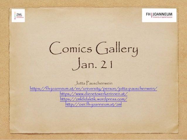 Comics Gallery Jan. 21 Jutta Pauschenwein https://fh-joanneum.at/en/university/person/jutta-pauschenwein/ https://www.dien...
