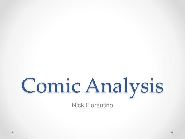 Comic Analysis Nick Fiorentino